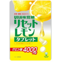 UHA Reset Lemon Tablet 64g