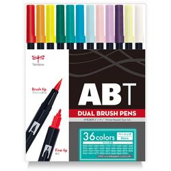 Tombow Dual Brush Pen 36 Color...