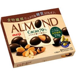 Meiji Almond Chocolate Cacao 7...