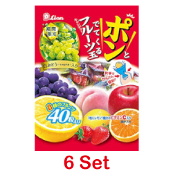Lion One Hand Fruits Ball Cand...
