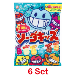Lion Soda Kids Candy 98g 【6 Se...