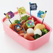 Torune Donald&Daisy Food Picks 9 Pieces for Bento Box Lunch Box
