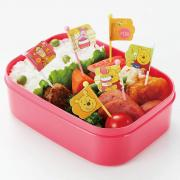 Torune Pooh Food Picks 9 Pieces for Bento Box Lunch Box