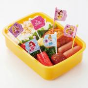 Torune Princess Food Picks 9 Pieces for Bento Box Lunch Box